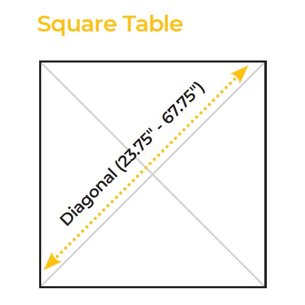 Square Table Specs