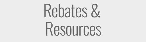 Rebates & Resources